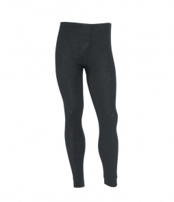 Sherpa Unisex Polypropylene Thermal Pants-Black