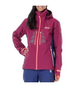 Picture Great Ski Jacket- Burgundy/Dark Blue