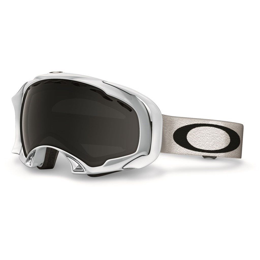 Oakley Splice Polished White Dark Grey