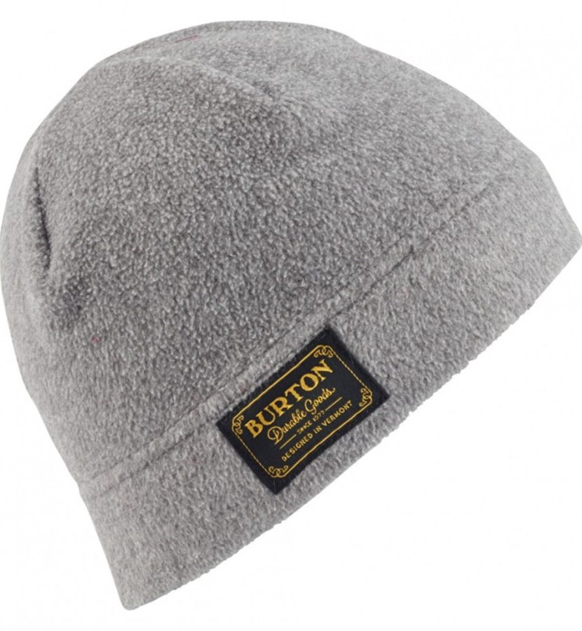 Burton Ember Fleece Beanie-Dark Ash Heather