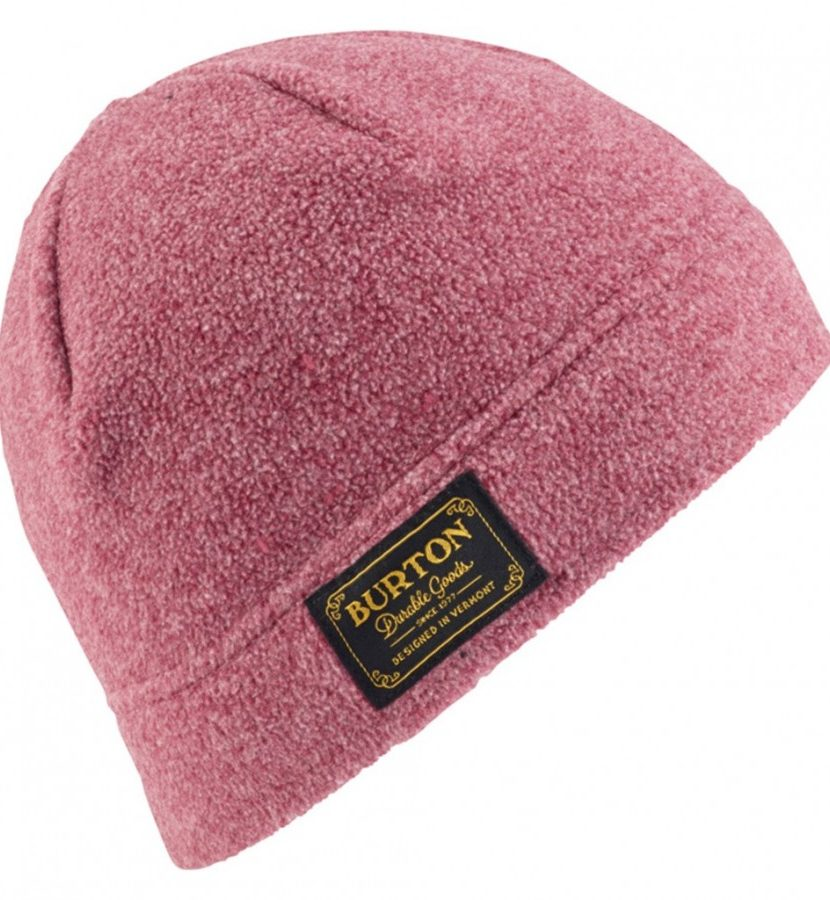 Burton Ember Fleece Beanie- Sangria Heather