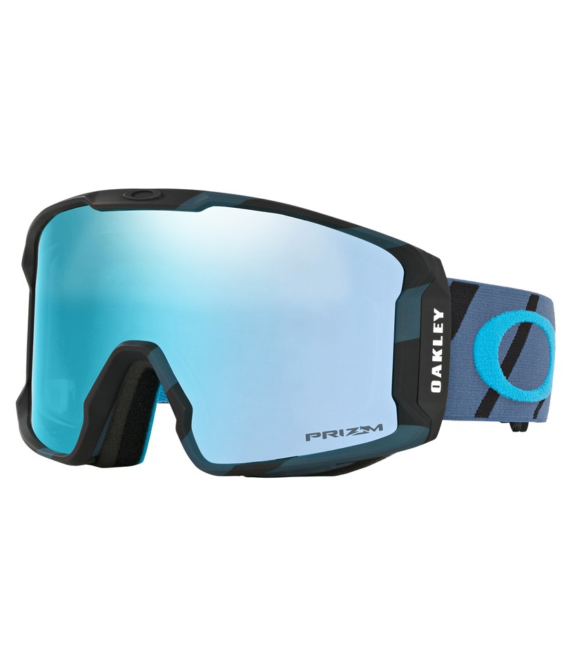 Oakley Line Miner Hazard Bar Blue w Prizm Sapphire Asian Fit
