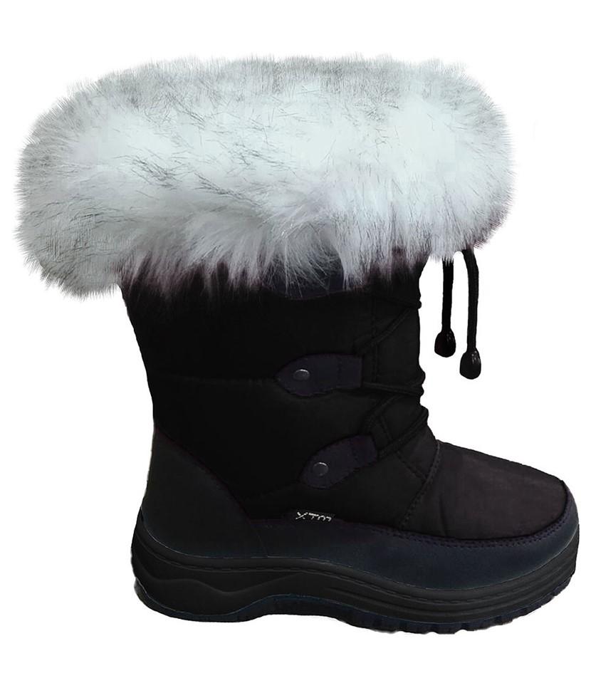 XTM Skyler Apre Kids Boots-Black