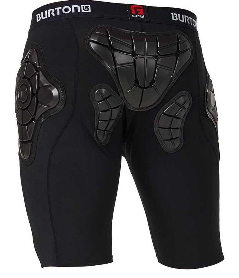 Burton Men's Total Impact Shorts-True Black 2.