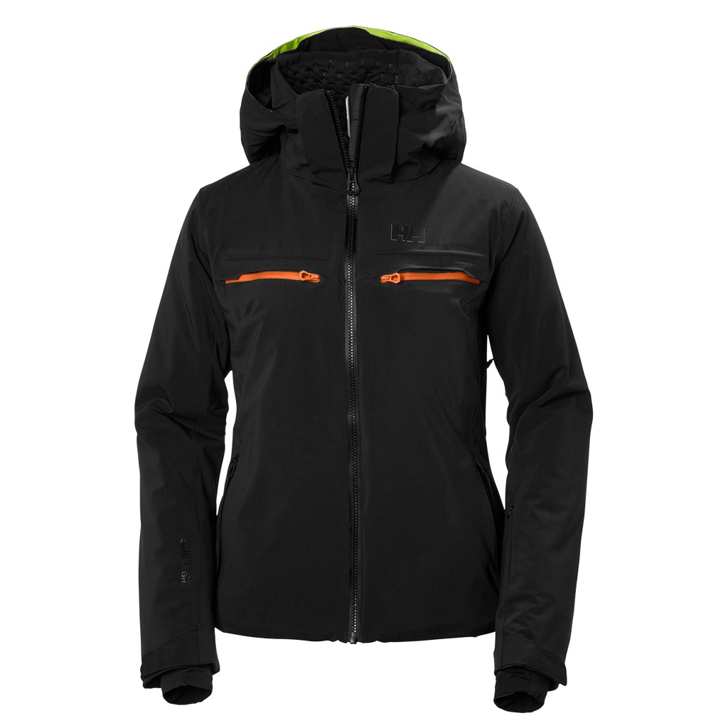 helly hansen alphelia ski jacket black paul reader snow sports. Black Bedroom Furniture Sets. Home Design Ideas