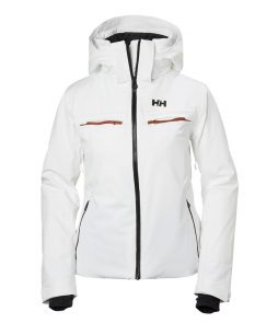 Helly Hansen Alphelia Ski Jacket-White