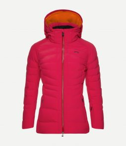 Kjus Duana Ski Jacket-Persian Red