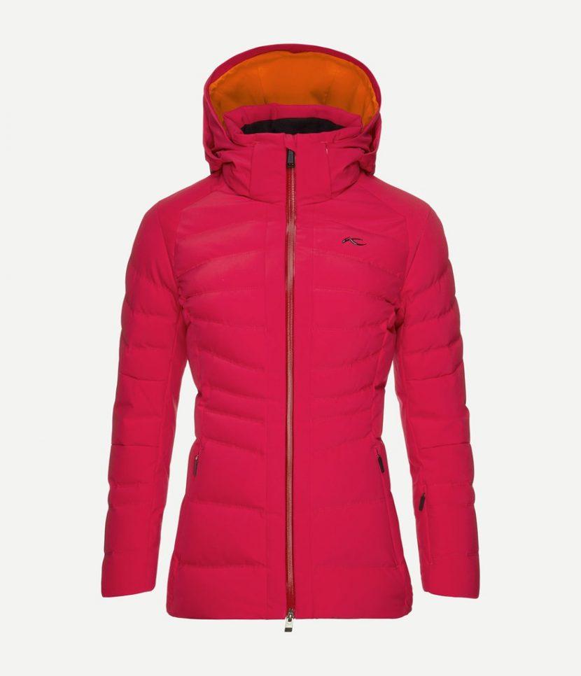 Kjus Duana Ski Jacket-Persian Red