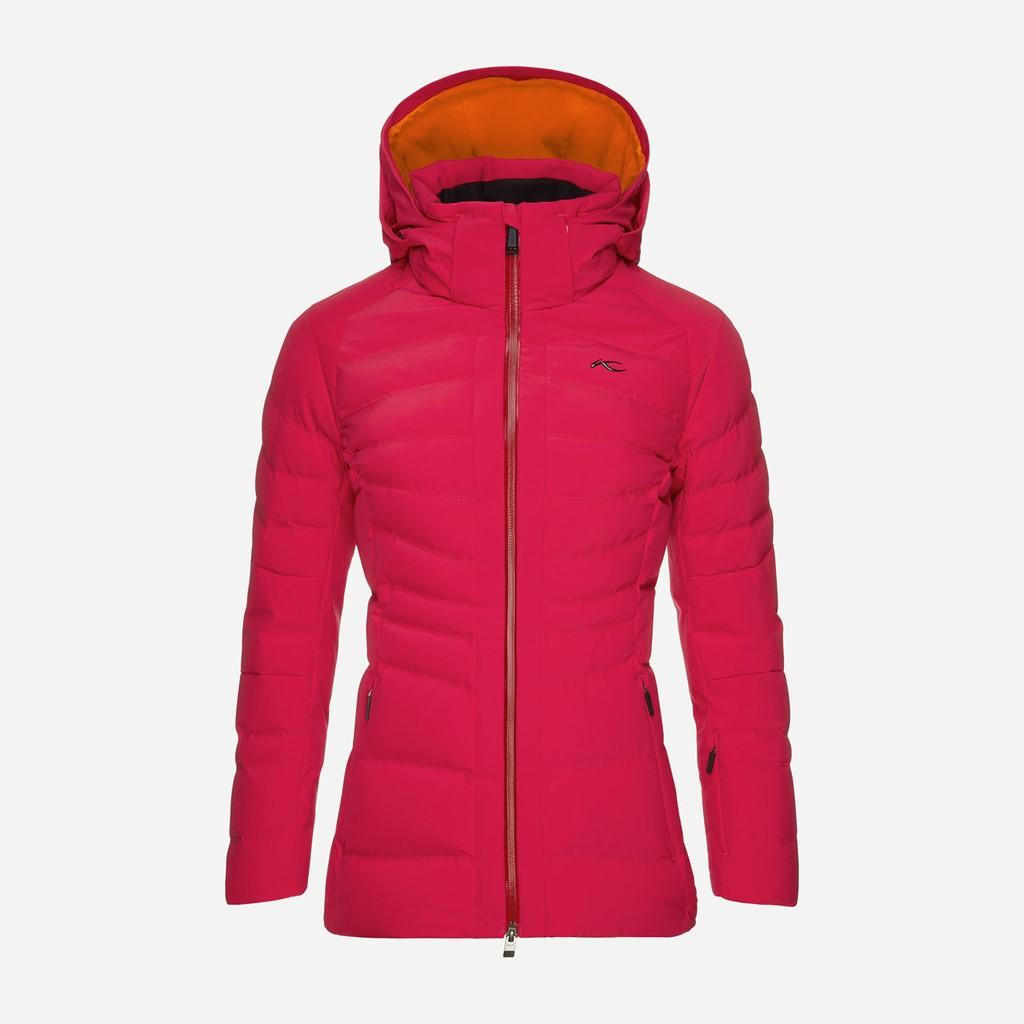 ee131cf710 Kjus Duana Ski Jacket-Persian Red - Paul Reader Snow Sports