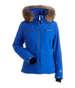 Nils Kirsten Real Fur Ski Jacket-Blue