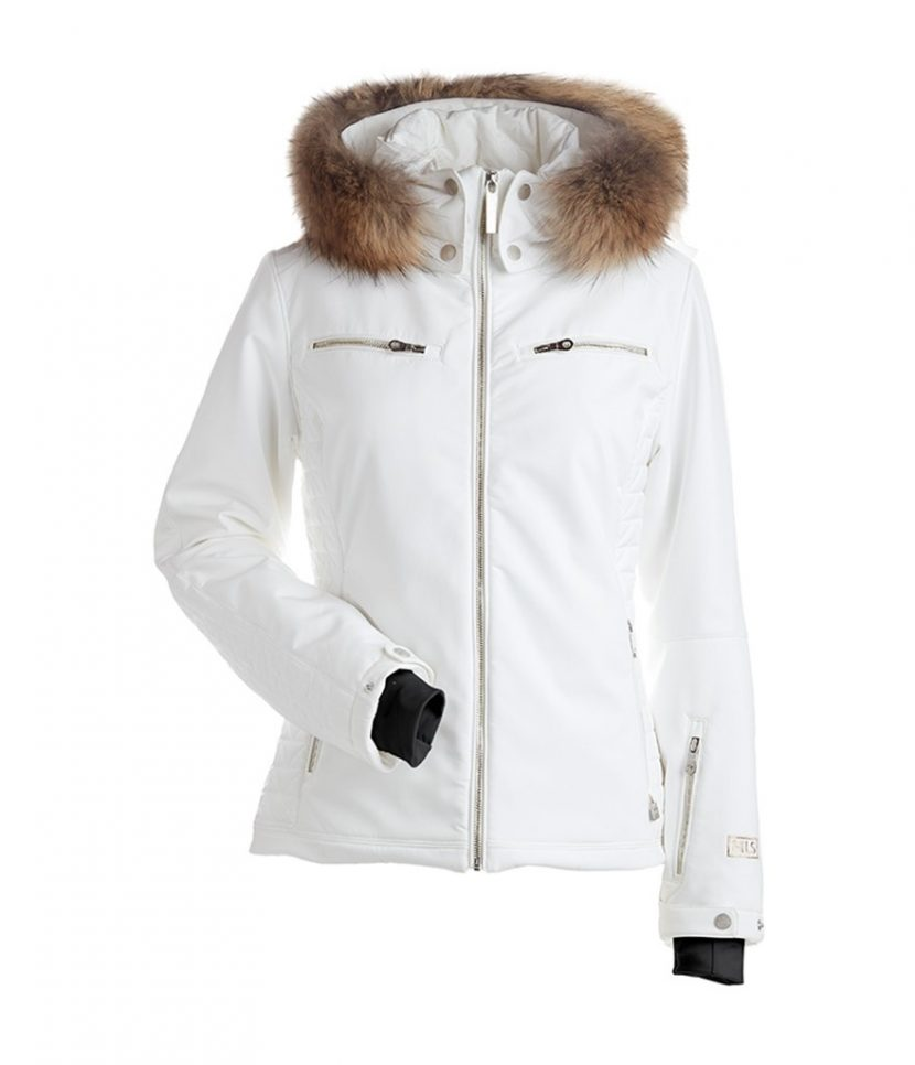 Nils Kirsten Real Fur Ski Jacket-White