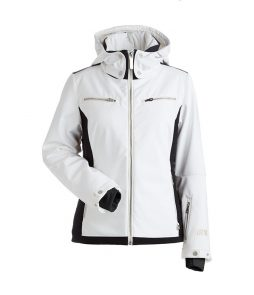 Nils Kristi Ski Jacket-White/Black