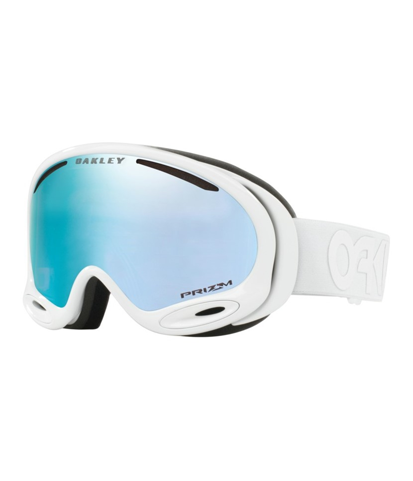 Oakley A Frame 2.0 Factory Pilot Whiteout w Prizm Sapphire Asian Fit