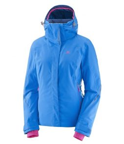 Salomon Brilliant Ski Jacket-Sky Diver