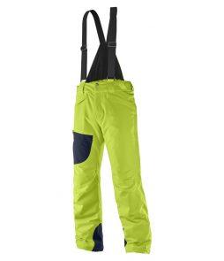 Salomon Chillout Bib Ski Pant-Acid Lime