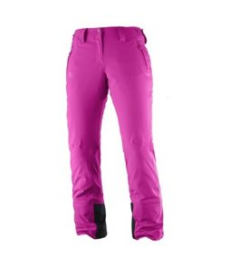 Salomon Strike Ski Pant-Rose Violet