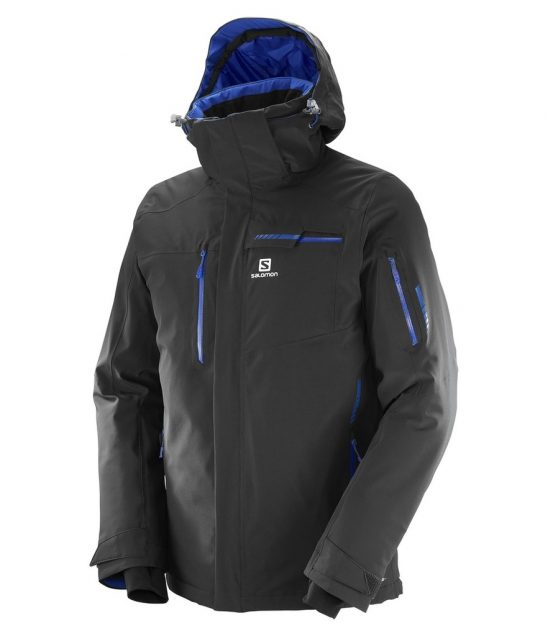 Salomon Brilliant Ski Jacket-Black