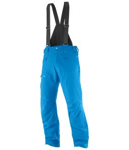 Salomon Chillout Bib Ski Pant-Hawaiian Surf