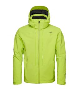 Kjus Sight Line Ski Jacket-Lime Green