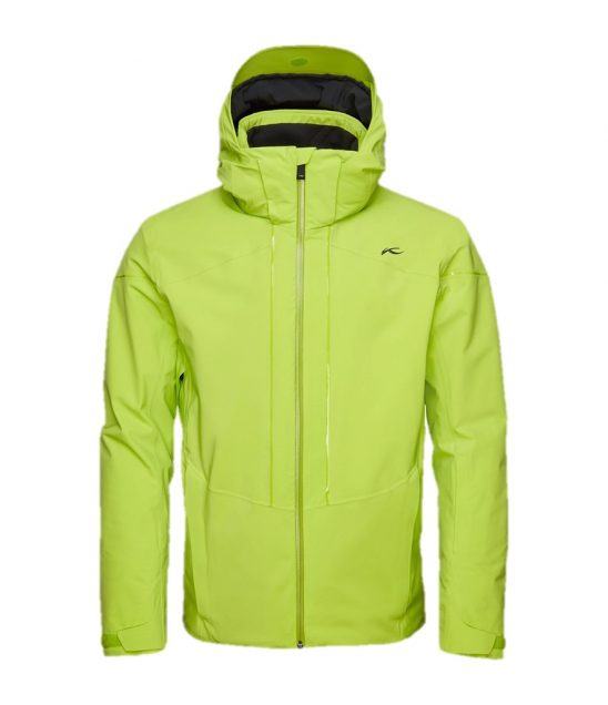 Kjus Sight Line Ski Jacket-Lime Green