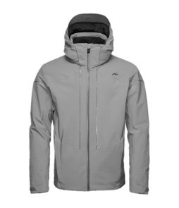 Kjus Sight Line Ski Jacket-Steel Grey