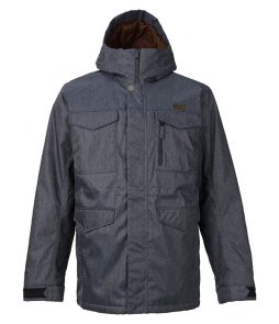 Burton Covert Snowboarding Jacket-Denim