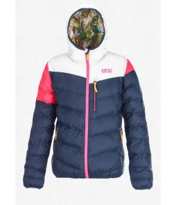 Picture Voice Reversible Jacket-Dark Blue