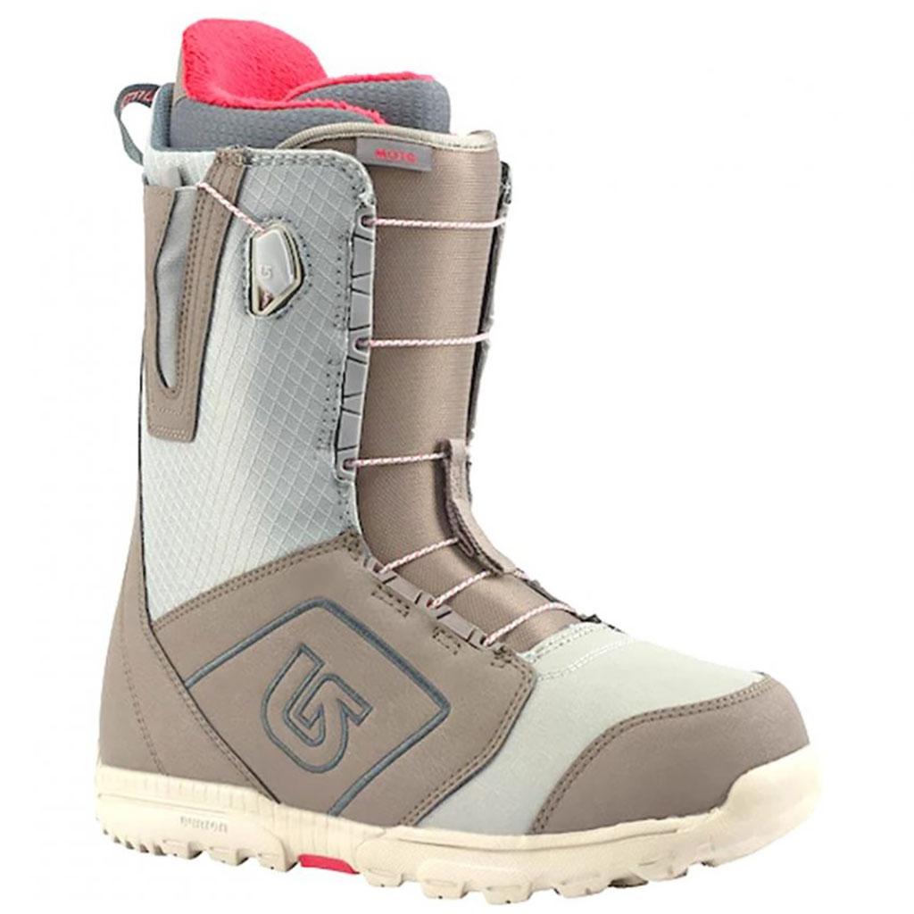 96593897 Burton Moto Gray 2018 Snow Boots - Paul Reader Snow Sports
