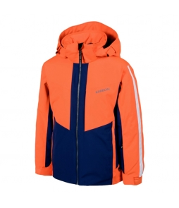 Karbon Brake Ski Jacket-Bright Orange