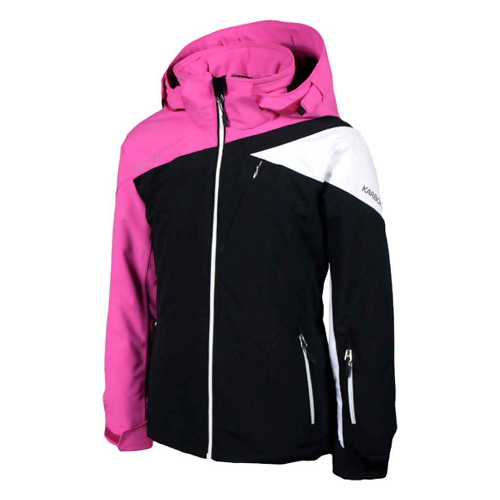 462238bf16 Karbon Pandora Ski Jacket-Black - Paul Reader Snow Sports