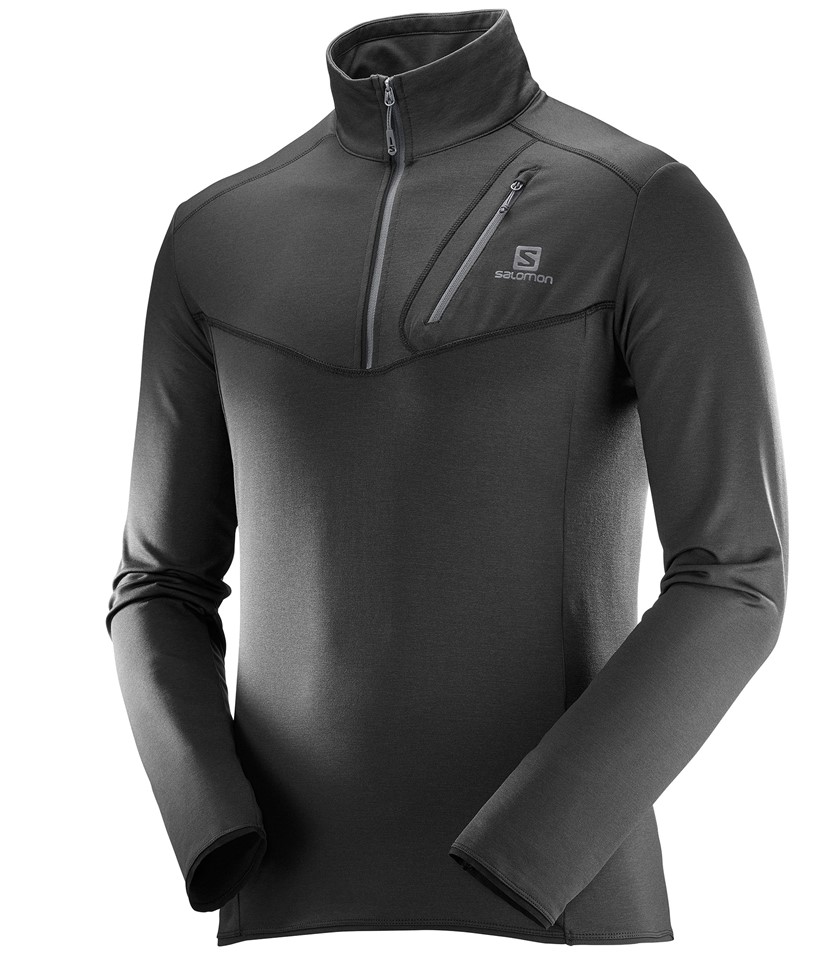 Salomon Discovery HZ Mid-layer-Black