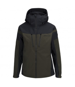 Peak Performance Lanzo Ski Jacket-Forest Night