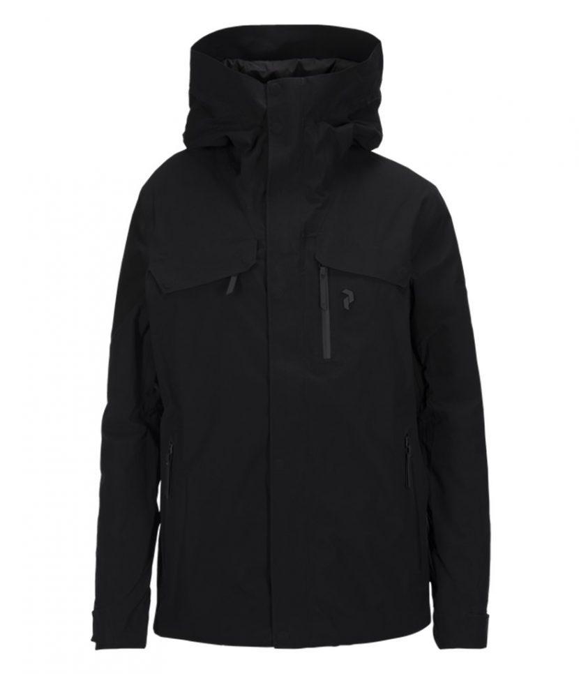 Peak Performance Spokane Ski Jacket-Black