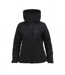 Peak Performance Spokane Ladies Ski Jacket-Black