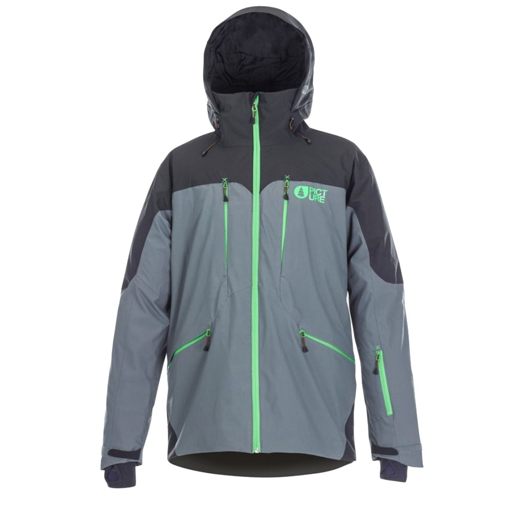 ec5ccbad6e Picture Naikoon Ski Jacket-Grey - Paul Reader Snow Sports