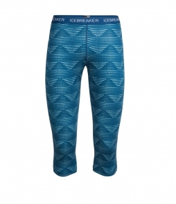 Icebreaker Oasis Legless Diamond Line-Blue