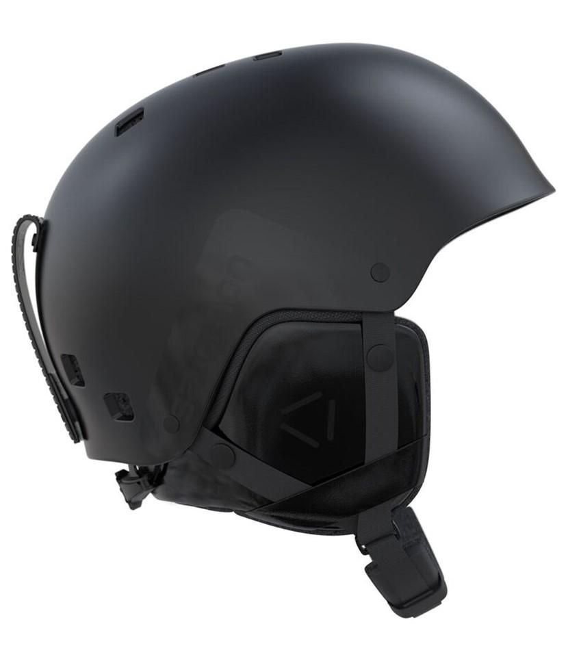bas prix ff9dd 2579f Salomon Brigade Helmet-Black 2018