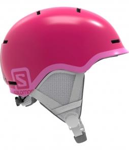 Salomon Grom Helmet-Glossy Pink