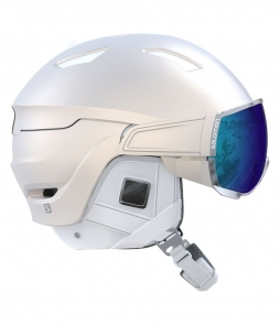 Salomon Mirage Visor Helmet-White