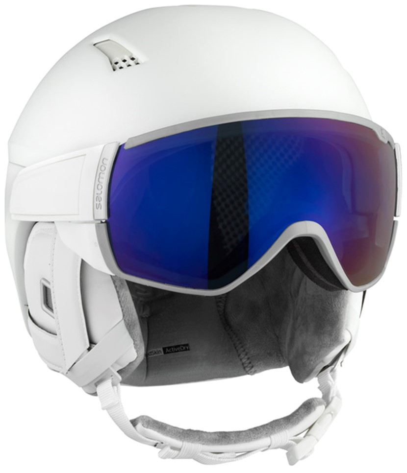 Salomon Mirage Visor Helmet-White.2