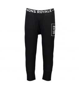 Mons Royale Shaun-off 3/4 Legging-Black