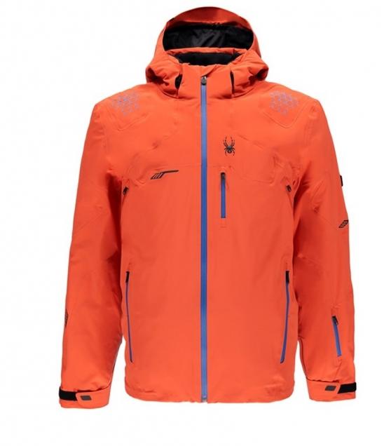 Spyder Monterosa Ski Jacket-Burst French Blue