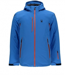 Spyder Vanqysh Ski Jacket-French Blue Burst