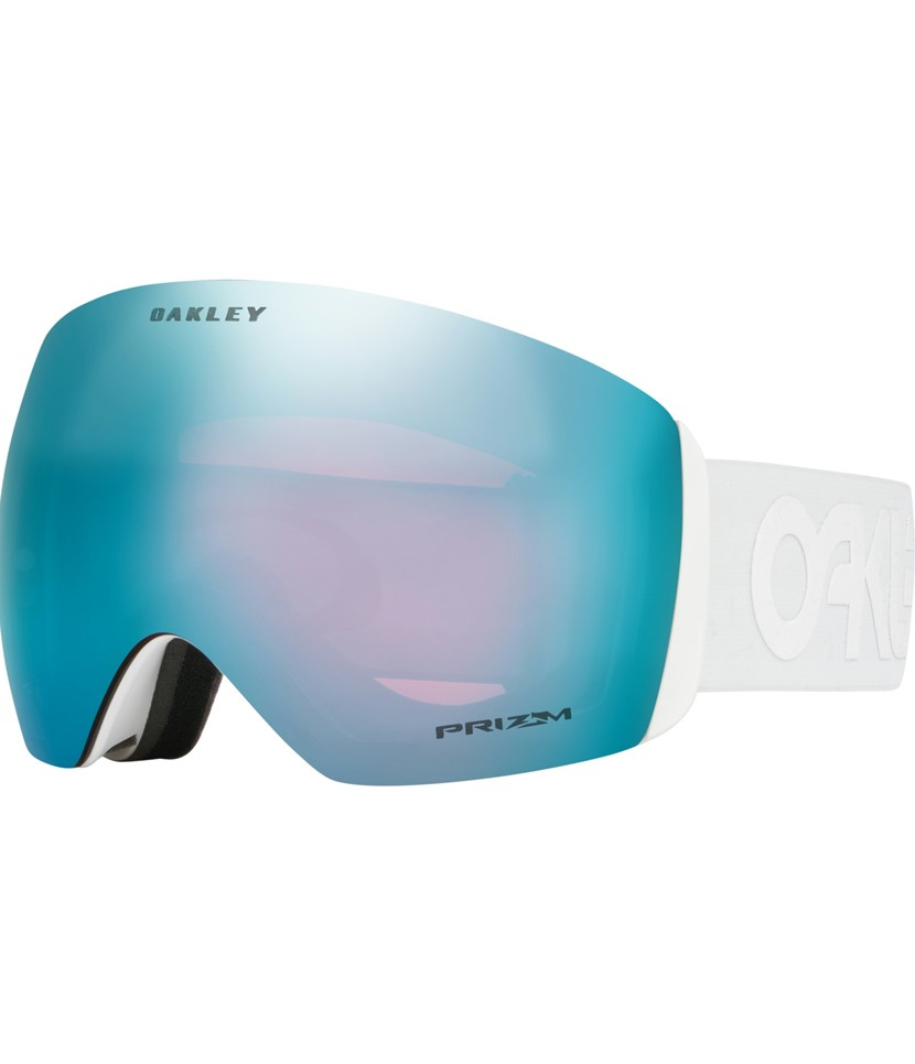 Oakley Flight Deck Alternative Fit Goggle FP Whiteout w Prizm Sapphire