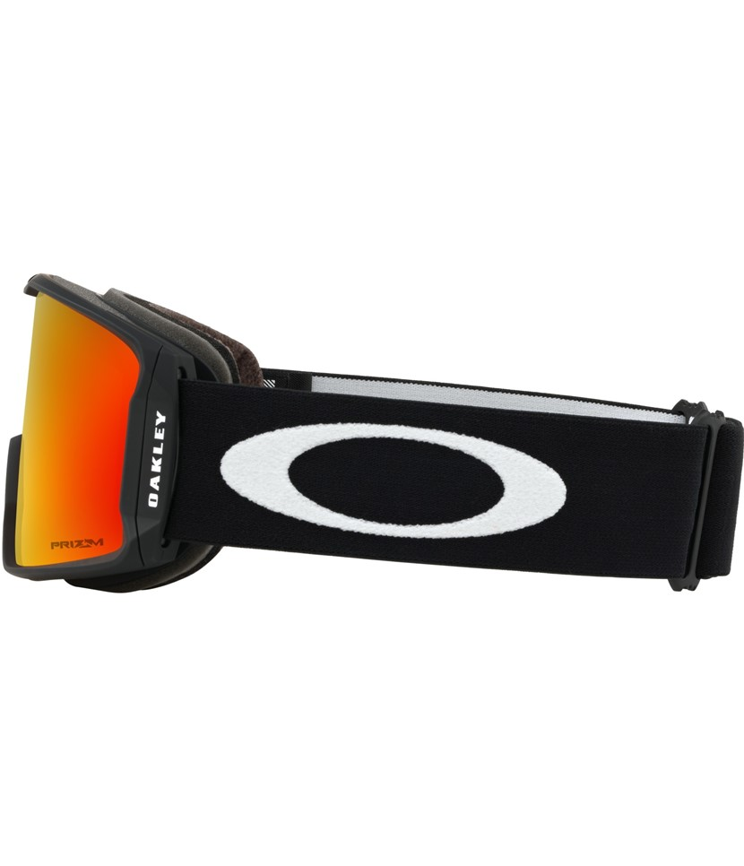 Oakley Line Miner Matte Black w Prizm Torch w Asian Fit Available