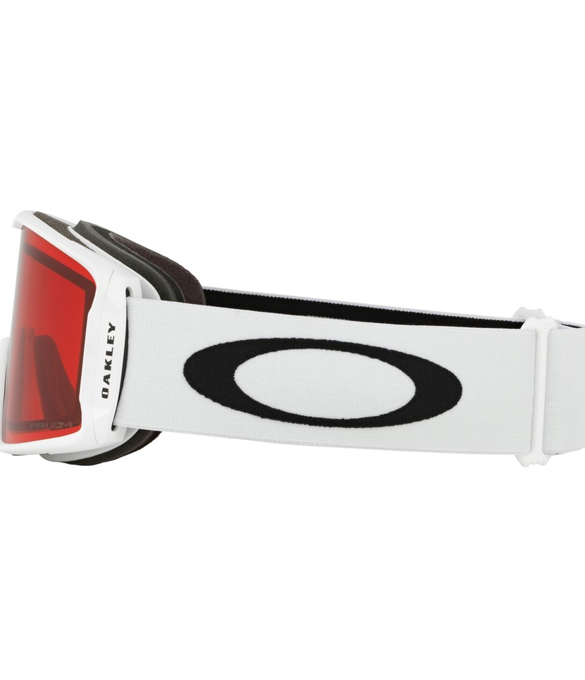 ad986309d0 Oakley Line Miner Youth Goggle Matte White w Prizm Rose - Paul Reader Snow  Sports