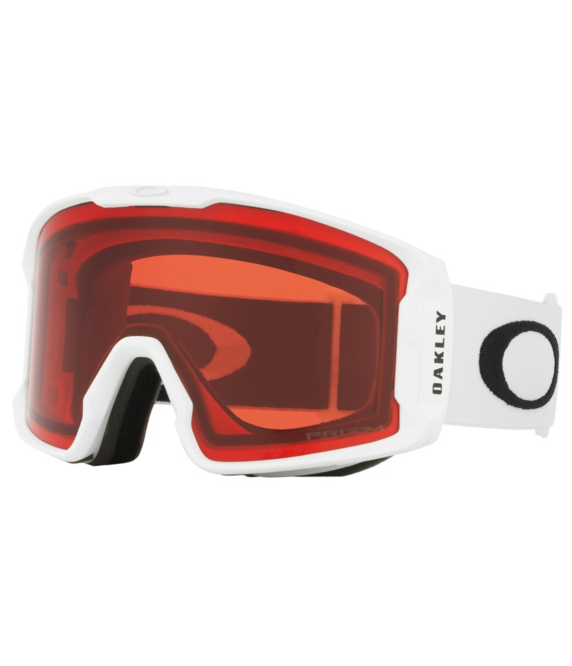 f25924b1820 Oakley Line Miner XM Matte White w Prizm Rose - Paul Reader Snow Sports