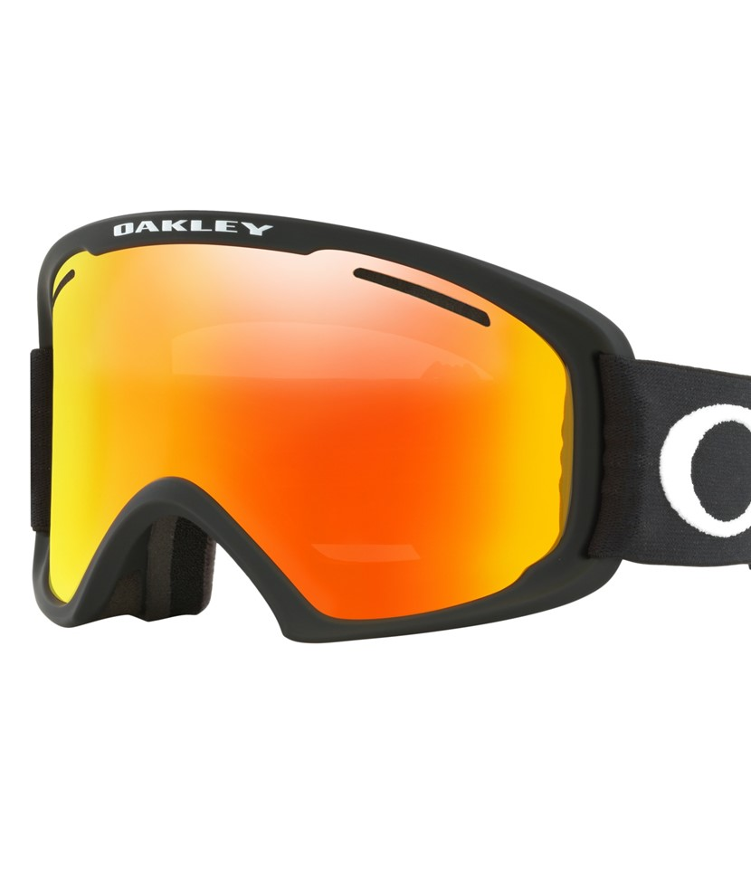 Oakley O Frame XL Goggle Black w Fire Iridium