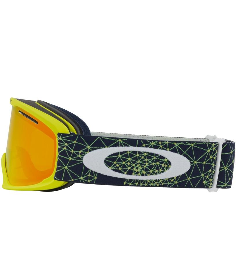 Oakley O Frame XL Goggle Galaxy Blue Laser-Fire Iridium - Paul ...