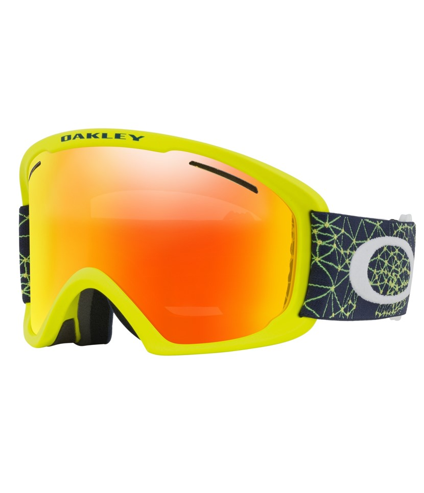Oakley O Frame XL Goggle Galaxy Blue Laser-Fire Iridium
